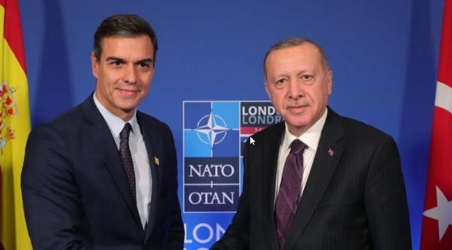 Sanchez Erdoğan telekonferansı Doğu Akdeniz ve koronavirüs hakkında görüşmeler