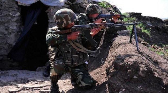 Ermenistan askerlerinden Azerbaycan askerine süngülü saldırı